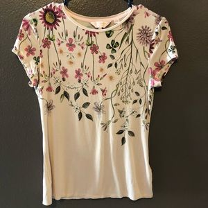 Ted Baker floral print top